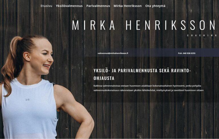 Mirka Henriksson Coaching